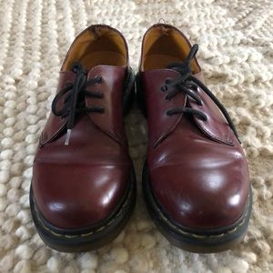 Dr Martens 3-eyed Oxford womens shoes